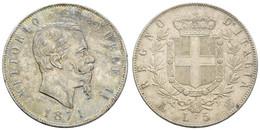 Victor Emanuel II., 1861-1878, 5 Lire, 1871, KM 8.3, Vz - Unclassified