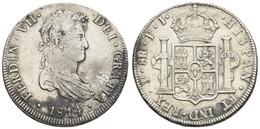 Ferdinand VII., 1808-1825, 8 Reales, 1814 PJ, KM 84, Ss-vz - Bolivia
