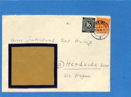 Allemagne Bizone 1946 Lettre De Munster (G1885) - American/British Zone