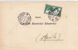 Camarda (Aquila) Frazionario 3-33 Del 1933 - Marcofilía