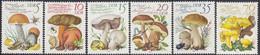 GERMANY DDR 2551-2556,unused,mushrooms - Unused Stamps