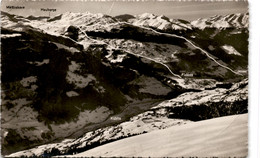Abfahrtsroute Von Parsennfurka über Fideriser Heuberge Nach Fideris U. Jenaz (236) * 27. 12. 1931 - GR Grisons