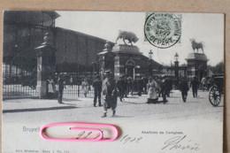 BRUXELLES ; Abattoirs De CUREGHEM En 1902 - Brussels (City)