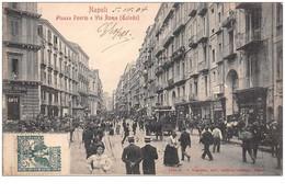Italie. N° 45278 . Napoli . Piazza Poerio E Via Roma - Napoli (Napels)