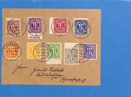 Allemagne Bizone 1946 Lettre De Mindelheim (G1902) - Zona Anglo-Americana