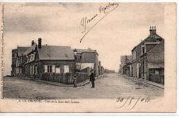 Le Crotoy-Coté De La Rue Des Chalets - Le Crotoy
