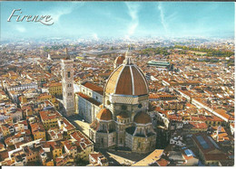 Firenze (Toscana) Cattedrale, Veduta Aerea, Cathedral, Aerial View, Cathedrale, Vue Aerienne, Photo Luciano Mugnaini - Firenze (Florence)