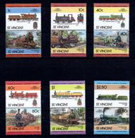 Serie Eisenbahn-Marken (aa8510) - Treni