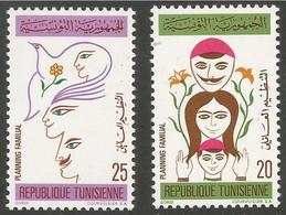 Tunisie 105-106 - 1973 N°739/740/741/742 - Tunisia
