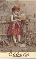 CHROMO CIBILS CIB 2-3-3BIG CARDS CHILDREN PHOTOS - Other