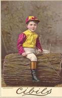 CHROMO CIBILS CIB 2-3-3-BIG CARDS CHILDREN PHOTOS-HEYMANN SCHMIDT - Other