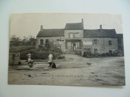 CPA / Carte Postale Ancienne / Nièvre (58) Chatillon En Bazois Place De Tamnay - Chatillon En Bazois
