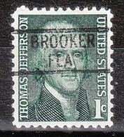 USA Precancel Vorausentwertung Preo, Locals Florida, Brooker 819 - Preobliterati