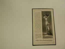 Doodsprentje ( 7370 )  Vande Waeter  /  Mus      -  Le Renouard   Nieuwpoort  -   1928 - Avvisi Di Necrologio
