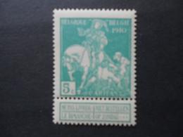 90 Xx MNH Lemaire 5c Blauwgroen - 5c Vert-bleu - 1910-1911 Caritas