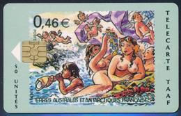 TAAF Télécarte TAAF34 Superbe - TAAF - Territorios Australes Franceses