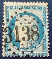 60 - 115 -  GC 3138 Rigny Le Ferron  09 Aube - 1871-1875 Ceres