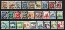27 Timbres Anciens ( Palestine ) - Palestina