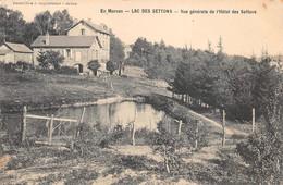 MONTSAUCHE-les-SETTONS - Lot De 7 Cartes  - Le Lac, Hôtel, Mur De Garde, Vue Générale, Cascade, Digue............. - Montsauche Les Settons