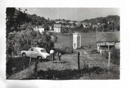70 -  VELLECHEVREUX ( Hte-Saône ) - Vue Générale. Voiture Renault Dauphine + Personnages - Otros Municipios