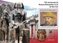 GUINEA 2021 - Metropolitan: Egyptology S/S. Official Issue [GU210237b] - Egyptology