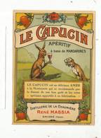 étiquette , Alcool , Liqueur De Mandarines , Distillerie De La Chaumière, M. MASSIA, SAVIGNE , Vienne , Frais Fr 1.65 E - Altri