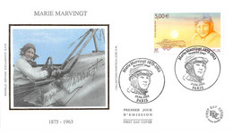 FRANCE.FDC.AM11567.29/06/2004.Cachet Paris.Marie Marvingt 1875-1963 - 2000-2009