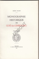 GOE-LEZ-LIMBOURG/Goé/Gulke -  A. Buchet - Monographie Historique - 1948 - (3 Volumes) (S122) - Antique