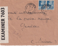 ALGERIE  1943 LETTRE CENSUREE DE MERS EL KEBIR - Brieven En Documenten