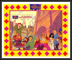 80136b St Vincent & The Grenadines Hunchback Of Notre Dame Le Bossu Disney Bloc (BF) Neuf ** MNH - St.Vincent Und Die Grenadinen