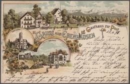Ansichtskarten: 1898/1960 Ca., Wilde Partie Mit Ca. 3000 Karten In 4 Schuhkartons, Vorwiegend Deutsc - 500 Postkaarten Min.