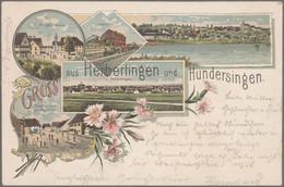 Ansichtskarten: DEUTSCHLAND: 1894/1910 Ca., Sammlung Aus EINER Korrespondenz Mit Ca. 550 Karten Quer - 500 Postkaarten Min.