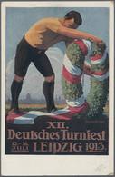 Ansichtskarten: DEUTSCHLAND: 1898/1916 Ca., Alphabetisch Sortierter Lagerbestand Mit Ca. 600-650 Kar - 500 Postkaarten Min.
