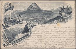 Ansichtskarten: SCHWEIZ: Schöne Partie Von Ca. 120 AK Aus 1898/1940 Ca. Quer Durch Die Schweiz Mit E - 500 Postkaarten Min.