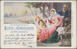 Ansichtskarten: 1894 Bis Modern, Partie Mit Geschätzt über 200 Karten, Dabei ältere Exemplare Mit Vi - 500 Postkaarten Min.