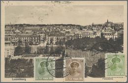 Ansichtskarten: 1920er Jahre, Europäische Panoramen: Ca. 70 Oft Beidseitig Frankierte (oftmals Farbi - 500 Postkaarten Min.
