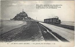 50    Le Mont Saint Michel    -  Vue Generale - Train - Le Mont Saint Michel
