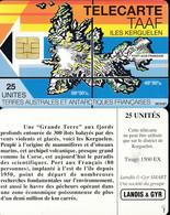 TAAF Télécarte TAAF2 Superbe - TAAF - Territorios Australes Franceses