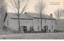 19 - N°73957 - LA CELLE - Epicerie Malthieu - Carte Peu Courante - Other Municipalities