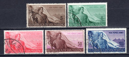 SAN MARINO, 1948, Tag Der Arbeit, Gestempelt - Used Stamps