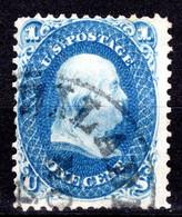 USA 1861, Freimarke, Benjamin Franklin, Gestempelt - Used Stamps
