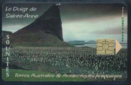TAAF Télécarte TAAF18 Superbe - TAAF - Territorios Australes Franceses