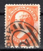 USA, 1870, Freimarke, Daniel Webster, Gestempelt - Used Stamps