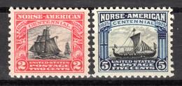 USA 1925, Sondermarken, Norwegische Einwanderer, Postfrisch ** - Unused Stamps