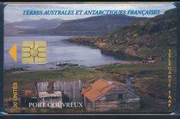 TAAF Télécarte TAAF11 Superbe Logo Moreno Rapproché - TAAF - Territorios Australes Franceses