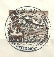 MiNr. 739 Briefstück   (b05) - Gebraucht