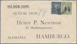 Amerika: 1880/1960 (ca.), Holding Of Apprx. 160 Covers/cards Of Various States Incl. USA, Registered - America (Other)
