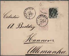 Mittel- Und Südamerika: 1876/1951, Assortment Of Apprx. 67 Covers/cards, E.g. Mexico, Brazil, Argent - America (Other)