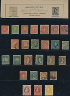 Mittel- Und Südamerika: 1850's-1950's: Mixed Collection Of Hundred And Hundred Of Mint And Used Stam - America (Other)