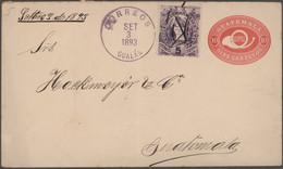 Mittel- Und Südamerika: 1880/1930 (ca.), Assortment Of Apprx. 117 Entires, Main Value Unused/used St - America (Other)